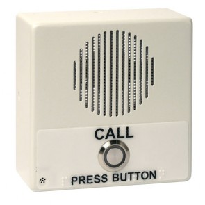 Cyberdata 11211 | Single Button IP Intercom/Access Controller Indoor Case, PoE, Signal White Housing