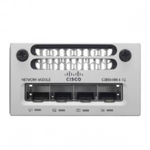 CISCO C3850-NM-4-1G= | Cisco Catalyst 3850 4 x 1GE Network Modu