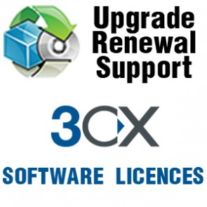 3CX 3CXHVU | Version Upgrade Hotel Module Basic includes 1 Year Upgrade Insurance
