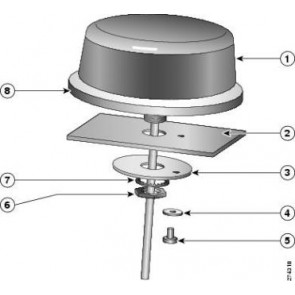 CISCO 3G-ANTM-OUT-COMBO=   3G-ANTM-OUT-COMBO= Outdoor Omni-Antenna