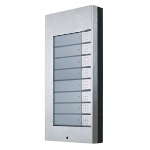 2N Helios 9135181E | Extender Panel: 8 Buttons For Vario Series Intercom/Door Controllers