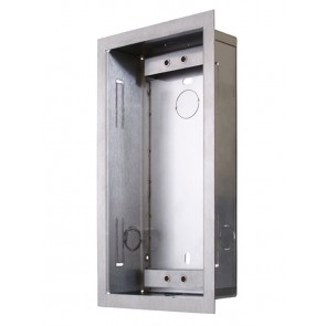 2N Helios 9135351E | Flush Fit Box: Accomadates 1 Module. For Helios Vario Intercom/Door Controller