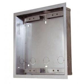2N Helios 9135352E | Flush Fit Box: Accomadates 2 Modules. For Helios Vario Intercom/Door Controller