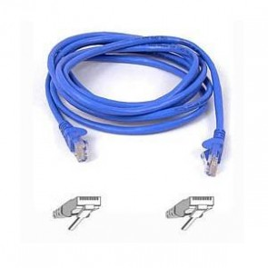 BELKIN A3L791B05M-BLUS | 5M BLUE CAT5E SNAGLESS PATCH CABLE