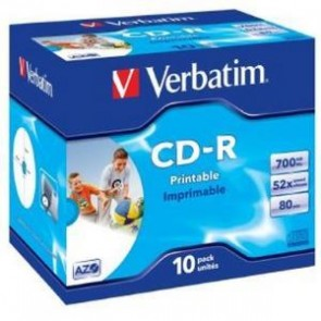 VERBATIM 41920 | CD-R 10pk Wide InkJet