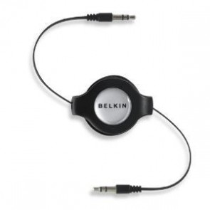 BELKIN F3X1980-4.5-BLK | IPH/IPOD/MP3 3.5MM/3.5MM RETRACT CABLE