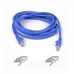 BELKIN A3L791B01M-BLUS | 1M BLUE CAT5E SNAGLESS PATCH CABLE