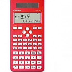CANON F717SGAR | F717SGAR 242 ftn sci calculator Red