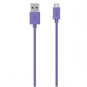 BELKIN F2CU012BT04-PUR | Micro USB Charge/Sync Cable 1.2m  Purple