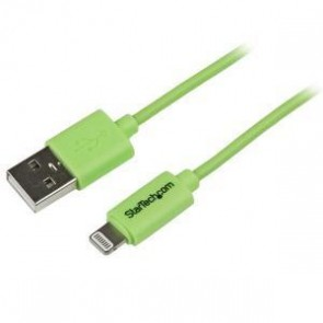 STARTECH USBLT1MGN | 1m Green 8-pin Lightning to USB Cable