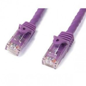 STARTECH N6PATC2MPL | 2m Purple Snagless UTP Cat6 Patch Cable