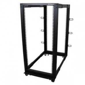 STARTECH 4POSTRACK25U | 25U Adjustable Depth 4 Post Server Rack