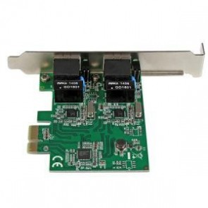 STARTECH ST1000SPEXD4 | 2 Port Gigabit PCI Express Network Card