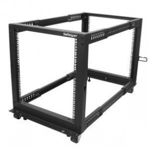 STARTECH 4POSTRACK12U | 12U Adjustable Depth 4 Post Server Rack