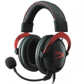 KINGSTON KHX-HSCP-RD | HyperX Cloud II BLKRED Gaming Headset