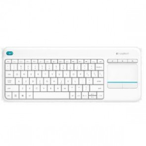 LOGITECH 920-007166 | K400 PLUS WIRELESS TOUCH KEYBOARD WHITE