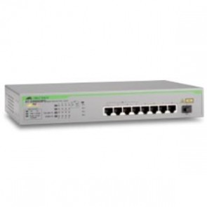 ALLIED TELESIS AT-GS900/8PS | 8-port 10/100/1000T unMng Swt with PoE+