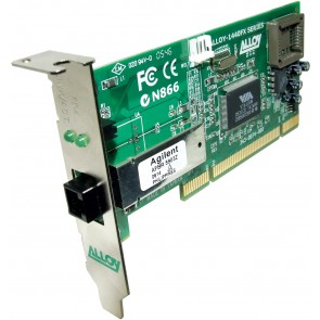 ALLOY 1440LMT | PCI 100Base-FX Multimode NIC (MT-RJ) LP Bracket