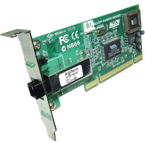 ALLOY 1440LMTB | PCI 100Base-FX Multimode NIC (MT-RJ) LP Bracket, PXE