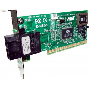 ALLOY 1440LSCB | PCI 100Base-FX Multimode NIC (SC) LP Bracket, PXE