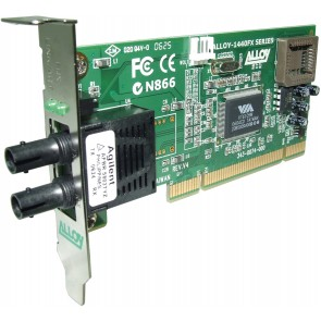 ALLOY 1440LST | PCI 100Base-FX Multimode NIC (ST), LP Bracket