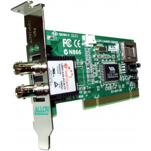 ALLOY 1440LSTR | PCI 100Base-FX Multimode NIC (ST-R) LP Bracket