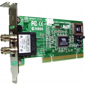 ALLOY 1440LSTRB | PCI 100Base-FX Multimode NIC (ST-R) LP Bracket, PXE