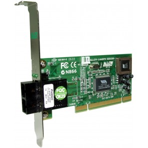ALLOY 1440SCB | PCI 100Base-FX Multimode NIC (SC) FH Bracket, PXE
