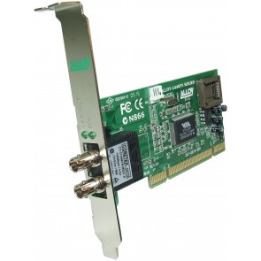 ALLOY 1440STR | PCI 100Base-FX Multimode NIC (ST-R) FH Bracket