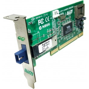 ALLOY 1440WDMS3 | PCI 100Base-FX WDM NIC (SC), FH Bracket, 20Km