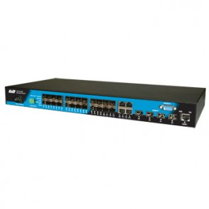 ALLOY AMS-4T24S4SFP | Layer 2+ SNMP Managed Gigabit Switch with 20x SFP, 4x Paired UTP/SFP, 4x SFP+ Ports