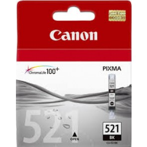 CANON CLI521BK | CLI521BK BLACK INK CARTRIDGE FOR IP4600