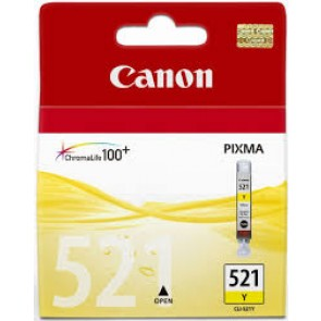 CANON CLI521Y | CLI521Y YELLOW INK CART FOR IP4600