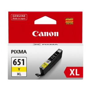 CANON CLI651XLY | CLI651XLY Yellow Extra Large Ink Tank