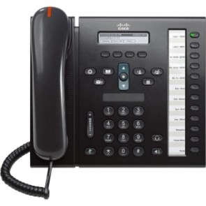 CISCO CP-6961-C-K9-RF | CISCO UC PHONE 6961 CHARCOAL STANDARD HA