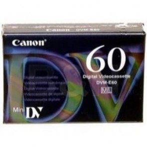 CANON DVME60 | DVME60 VIDEO CASSETTE (60 MINS)