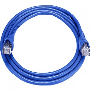 MISC CAT5EBL10 |  Cat5e patch lead 10M Blue