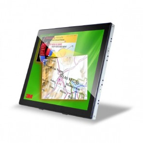 """3M 98000000000   3M C1910PS 19"""" LCD Dual Touch Display"""