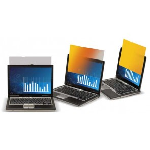 """3M 98000000000   3M 12.1""""Widescreen Gold Privacy Filter"""