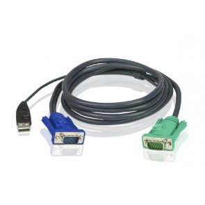 ATEN 2L-5203U |  Aten 3m USB KVM Cable with Audio to