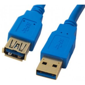 MISC 40USB3AMAF2 | USB3.0 EXTENSION CABLE AMAF GOLD BLUE