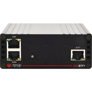 Epygi QX-E1T1-0000 | QXE1T1, Single Port PRI ISDN Gateway