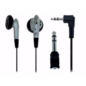 Shintaro SH-EARPHONEV2 | STEREO EARPHONE KIT with 3.5mm to 6.5mm adaptor