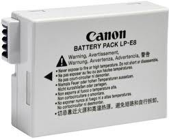 CANON LPE8 | LPE8 LITHIUM-ION BATTERY FOR EOS550D