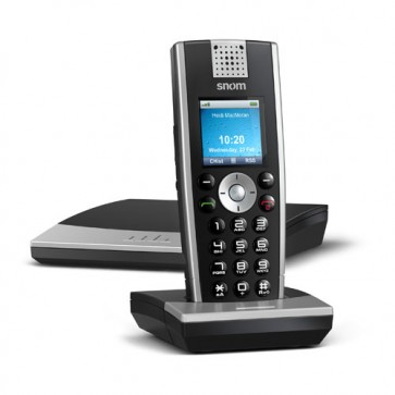 Snom SNOM-M9R | VoIP Dect IP Phone Base Station with 1x Handset and Repeater support
