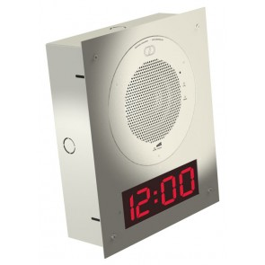 Cyberdata 11106 | Flush Mount Clock Kit - Gray White