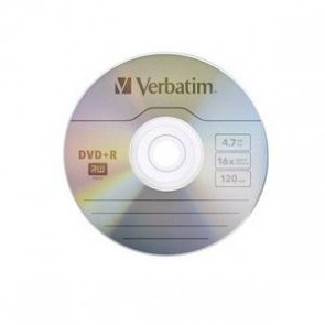 VERBATIM 95070 | DVD-R 5pk Jewel Case