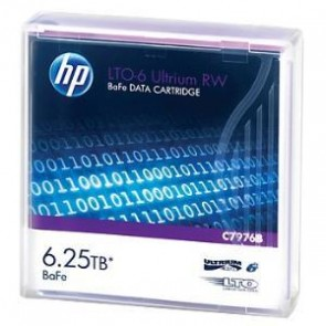 HP C7976B | HP LTO6 Ultrium 6.25TB BaFe RW Data Tape