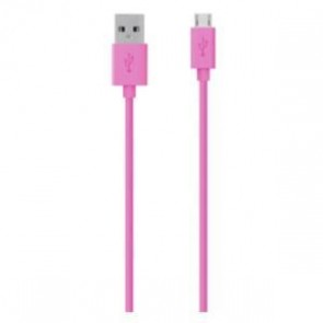 BELKIN F2CU012BT04-PNK | Micro USB Charge/Sync Cable 1.2m  Pink