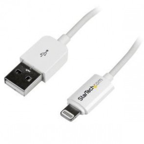 STARTECH USBLT2MW | 2m White 8-pin Lightning to USB Cable